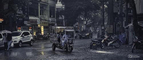 Hanoï sous la pluie