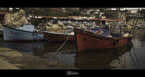 Le port de Nessebar