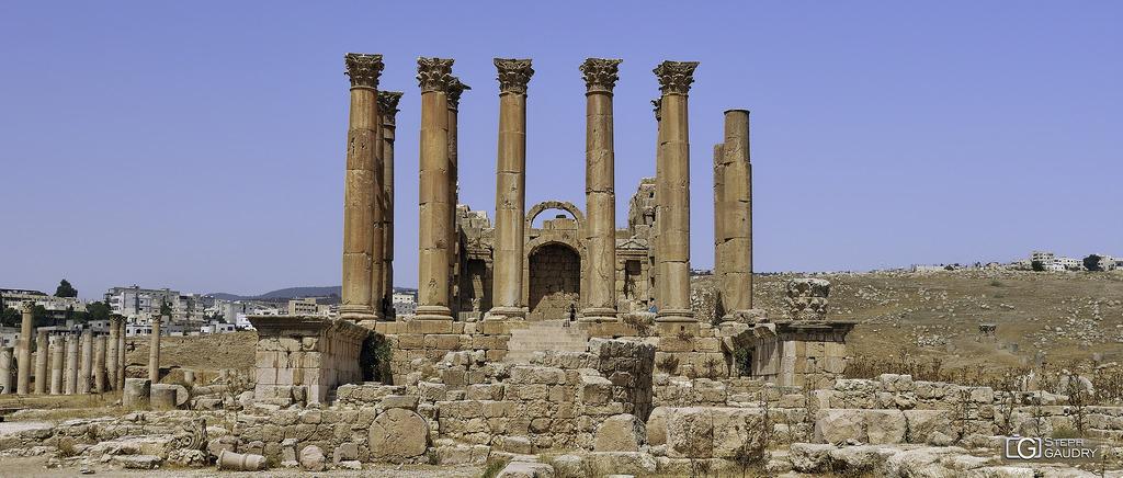Jerash - Temple d'Artémis