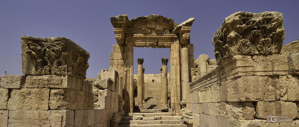 Jerash (JOR) Le temple de Dionysos