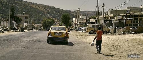 Entre Gesara et Qal'at Ar-Rabad