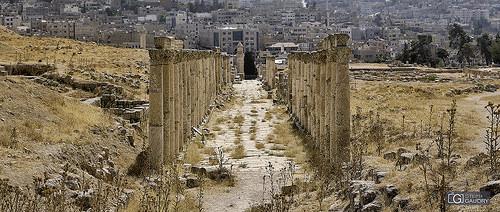Jerash - Decumanus