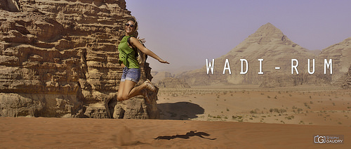 Wadi-Rum - Lucy in the sky with diamonds