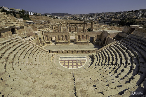 Jerash - Théâtre Nord