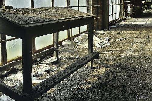 Asbest dust