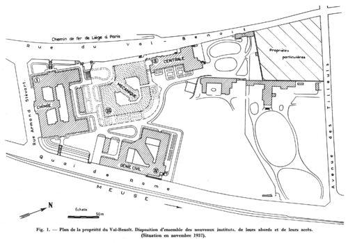 Université du Val-Benoît en 1937