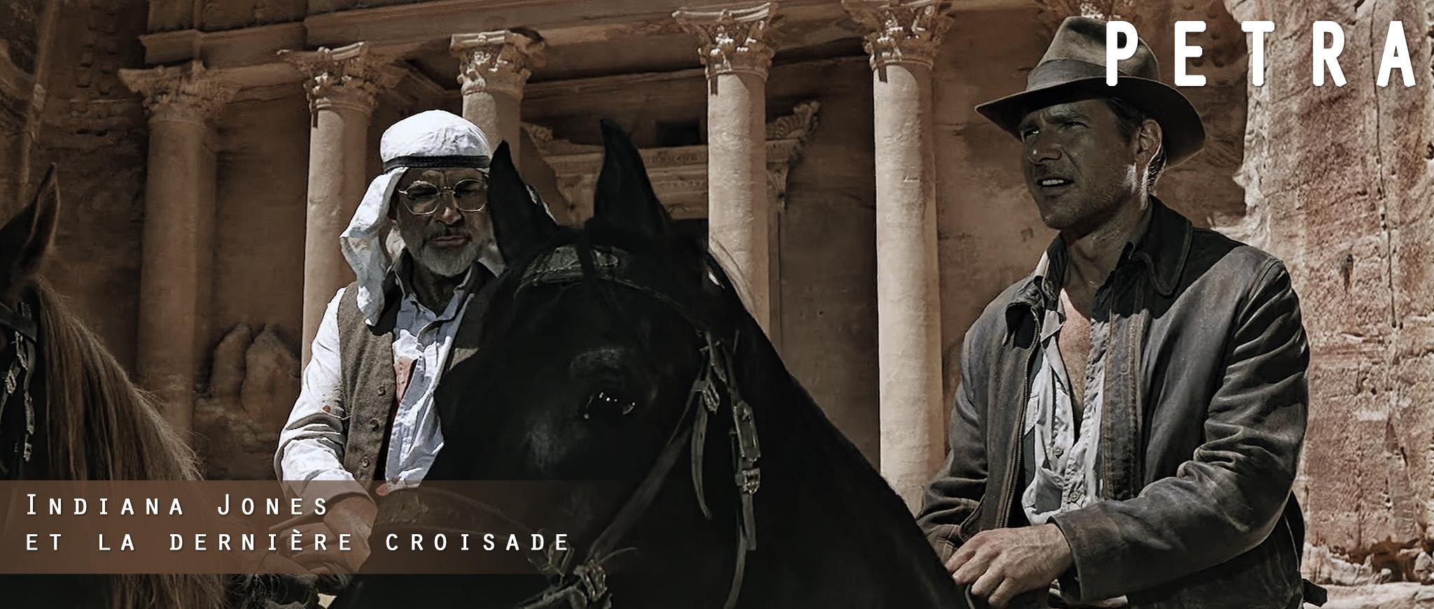 Indiana Jones et la dernière croisade - Petra ©Lucasfilm Ltd
