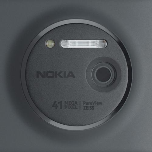 Détail de l'appareil photo du Nokia Lumia 120