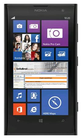 La face avant du Nokia Lumia 120