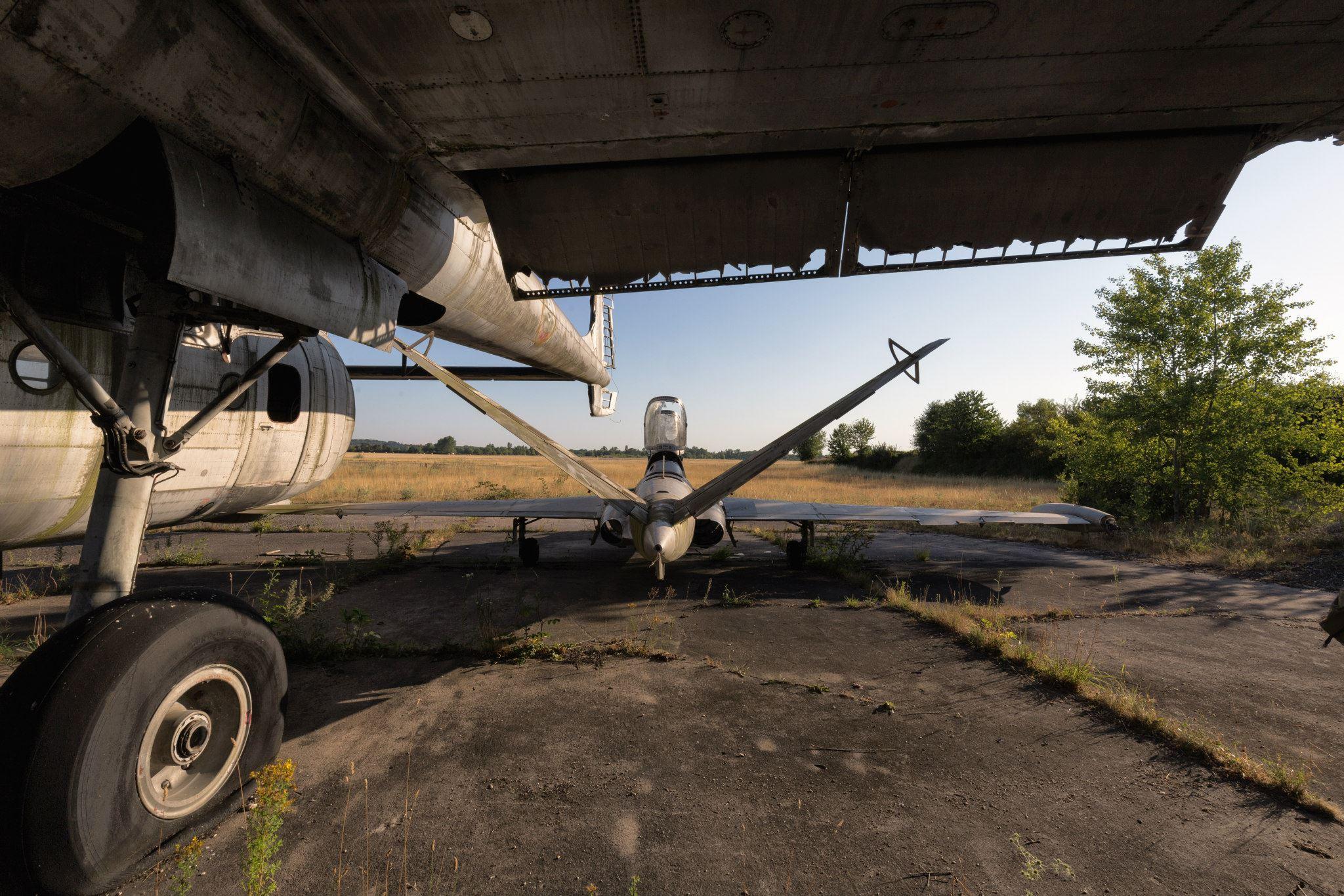 Urbex Lost Plane