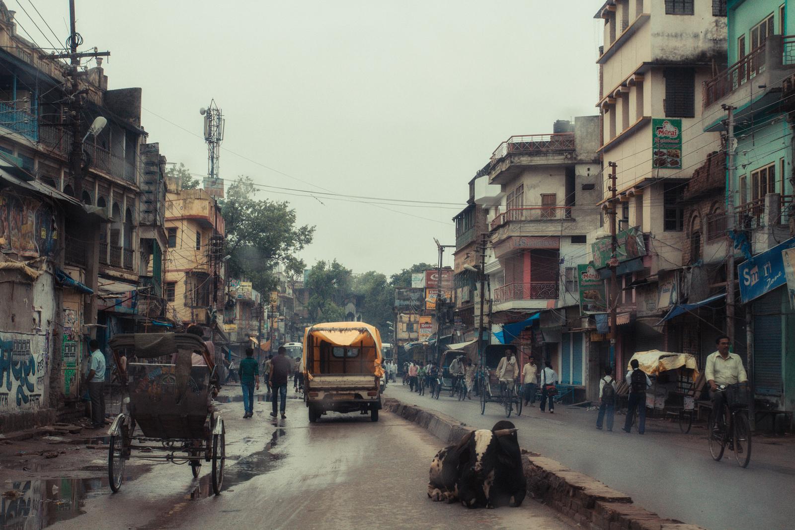 Inde Varnasi Street