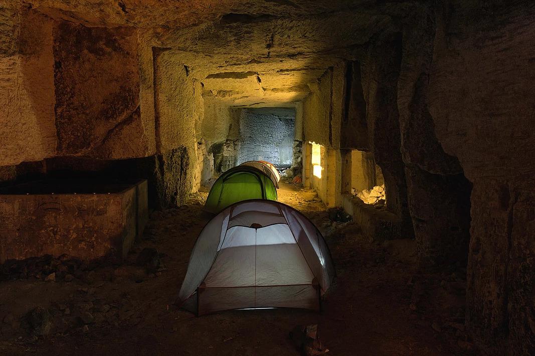 Urbex camping