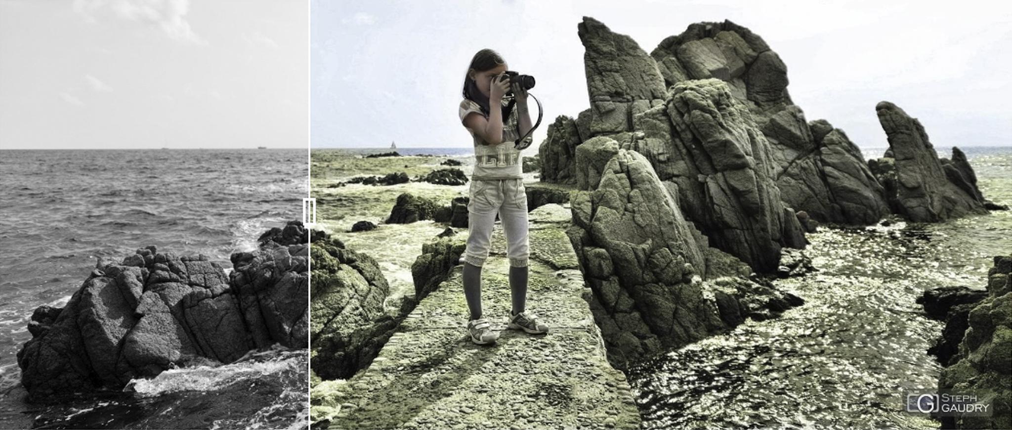 Essai de colorisation d'une photo noir et blanc