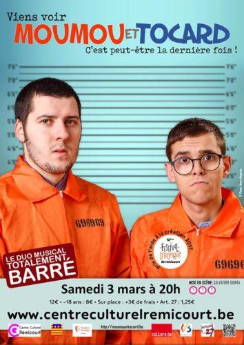 Affiche - Viens voir Moumou et Tocard, c'est peut-être la dernière fois!
