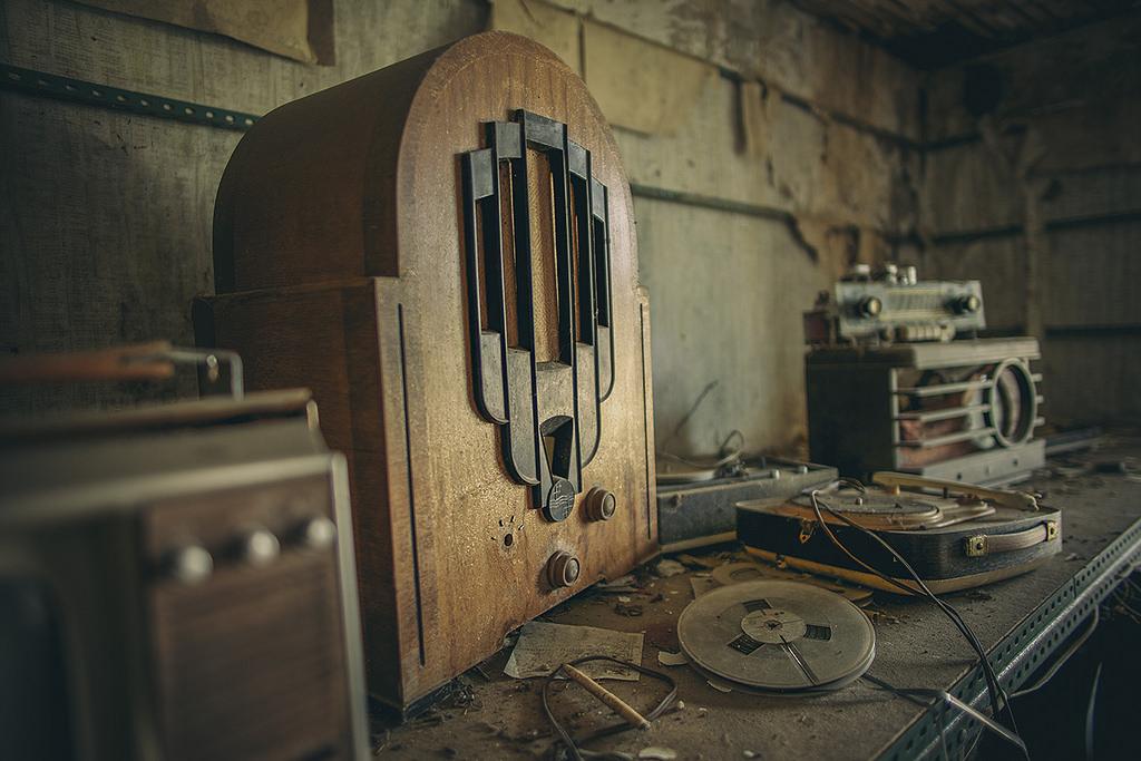 Radio Silence - ©Woven Eye